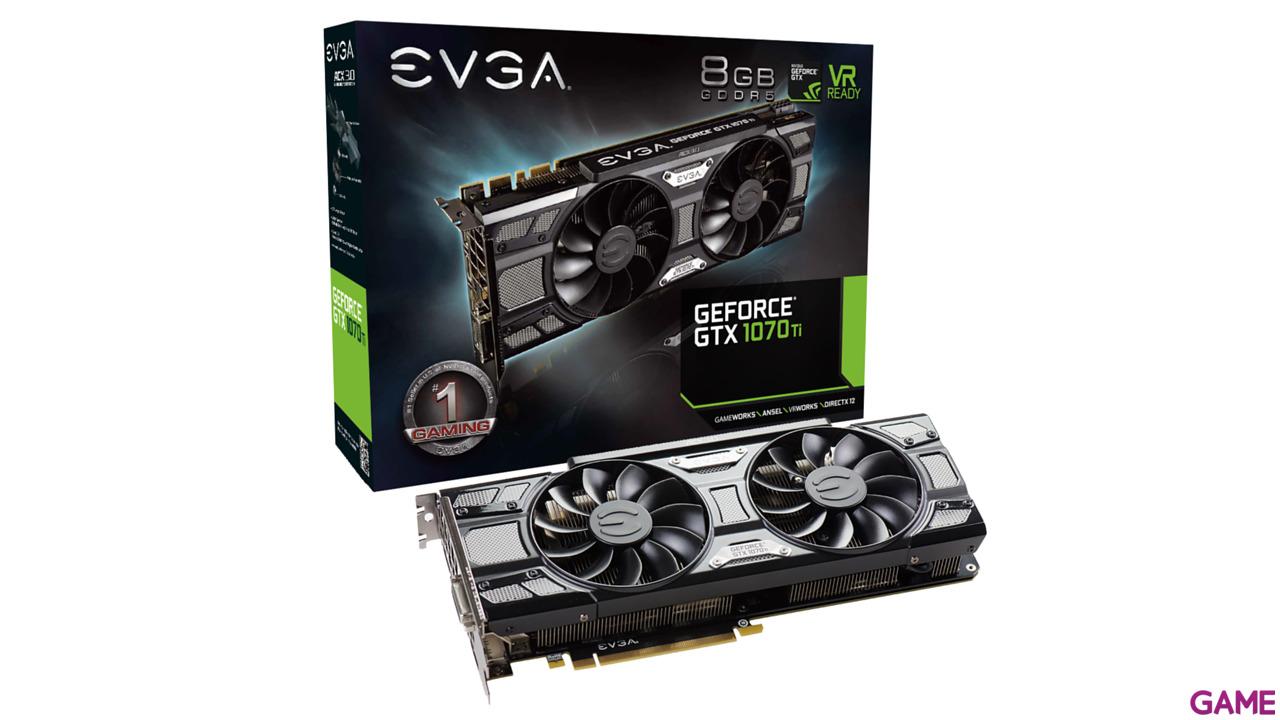EVGA GeForce GTX 1070 Ti SC 8GB