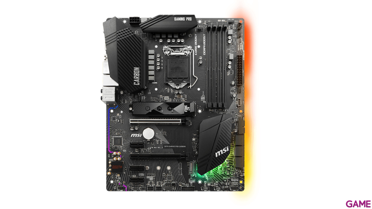 MSI H370 Gaming Pro Carbon LGA1151 ATX