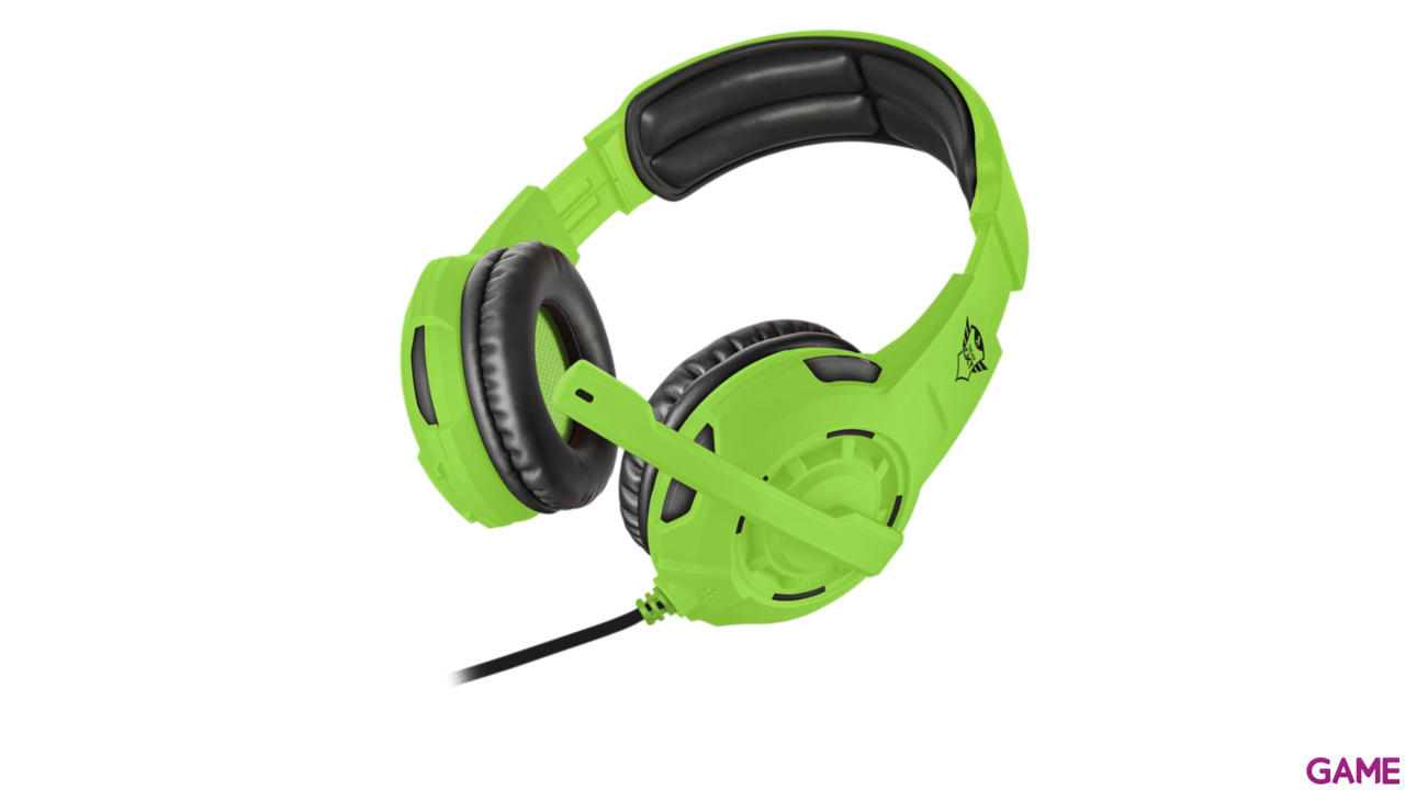 Auriculares Trust GXT310-SG Spectra Green PS4-XONE-NSW-PC