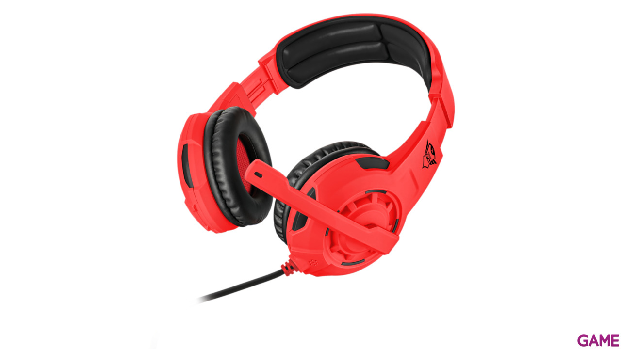 Auriculares Trust GXT310-SR Spectra Red PS4-XONE-NSW-PC