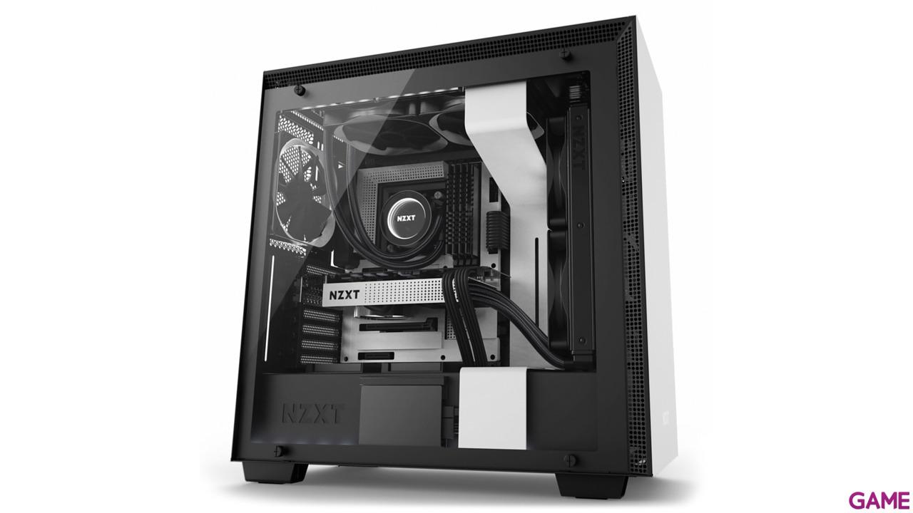 NZXT H700i Blanca/Negra RGB - Cristal Templado - ATX Mid Tower