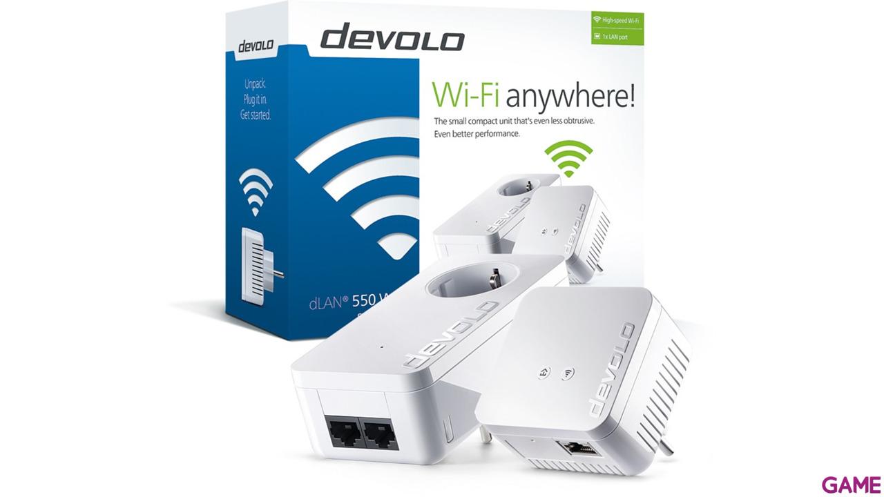 Devolo Powerline dLAN 550 WiFi Starter Kit