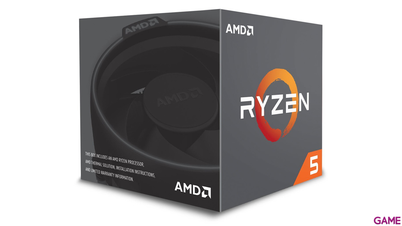 AMD Ryzen 2600X 3.6Ghz 6-Core AM4