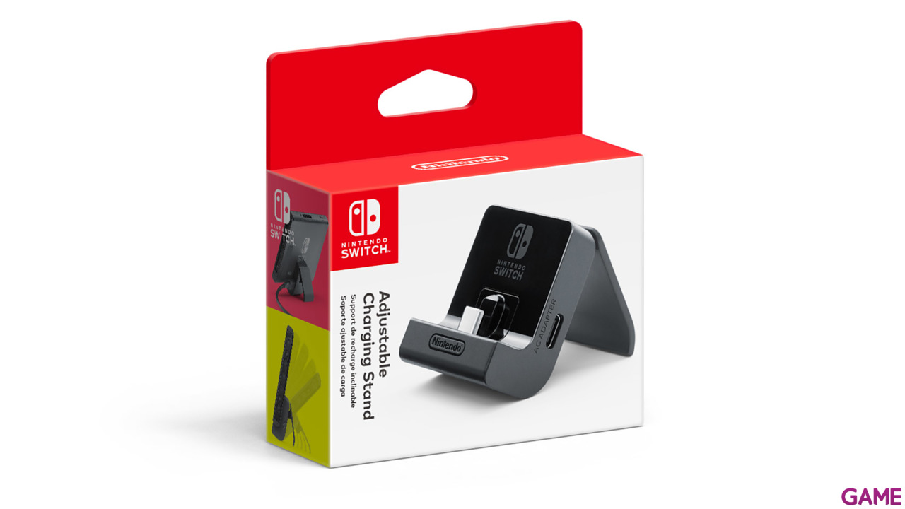 Soporte Cargador Ajustable para Switch