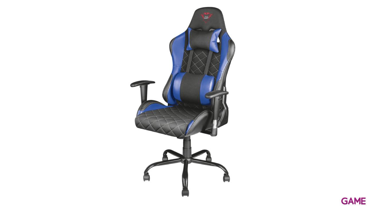 Trust GXT 707B Resto Gaming Chair Azul Tela - Silla Gaming