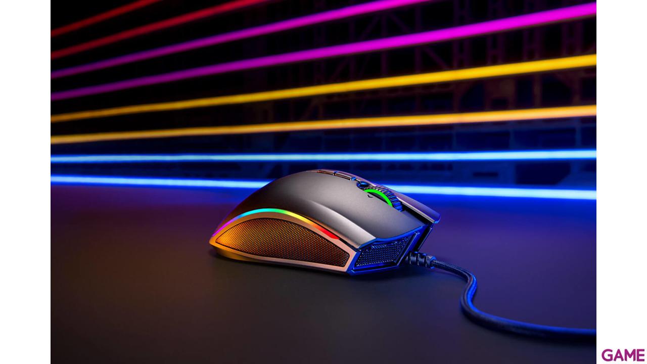 Razer Mamba Wireless Chroma 16.000 DPI RGB - Ratón Gaming