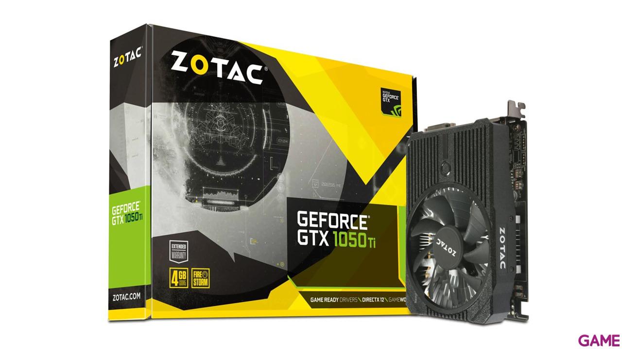 Zotac GeForce GTX 1050 Ti Mini 4GB GDDR5 - Tarjeta Gráfica Gaming