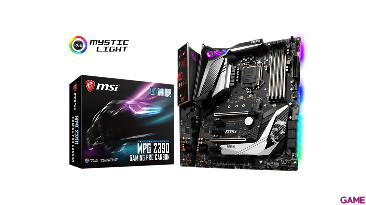 MSI MPG Z390 Gaming Pro Carbon - Placa Base ATX LGA1151