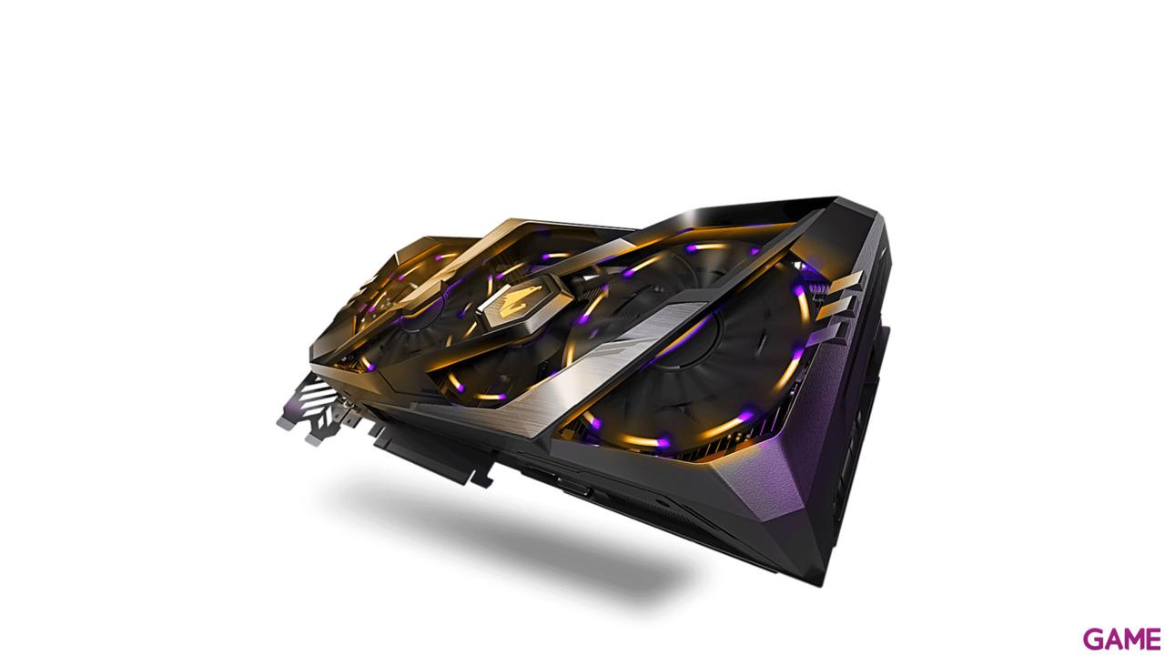 GIGABYTE AORUS GeForce RTX 2080 8GB GDDR6 - Tarjeta Gráfica Gaming