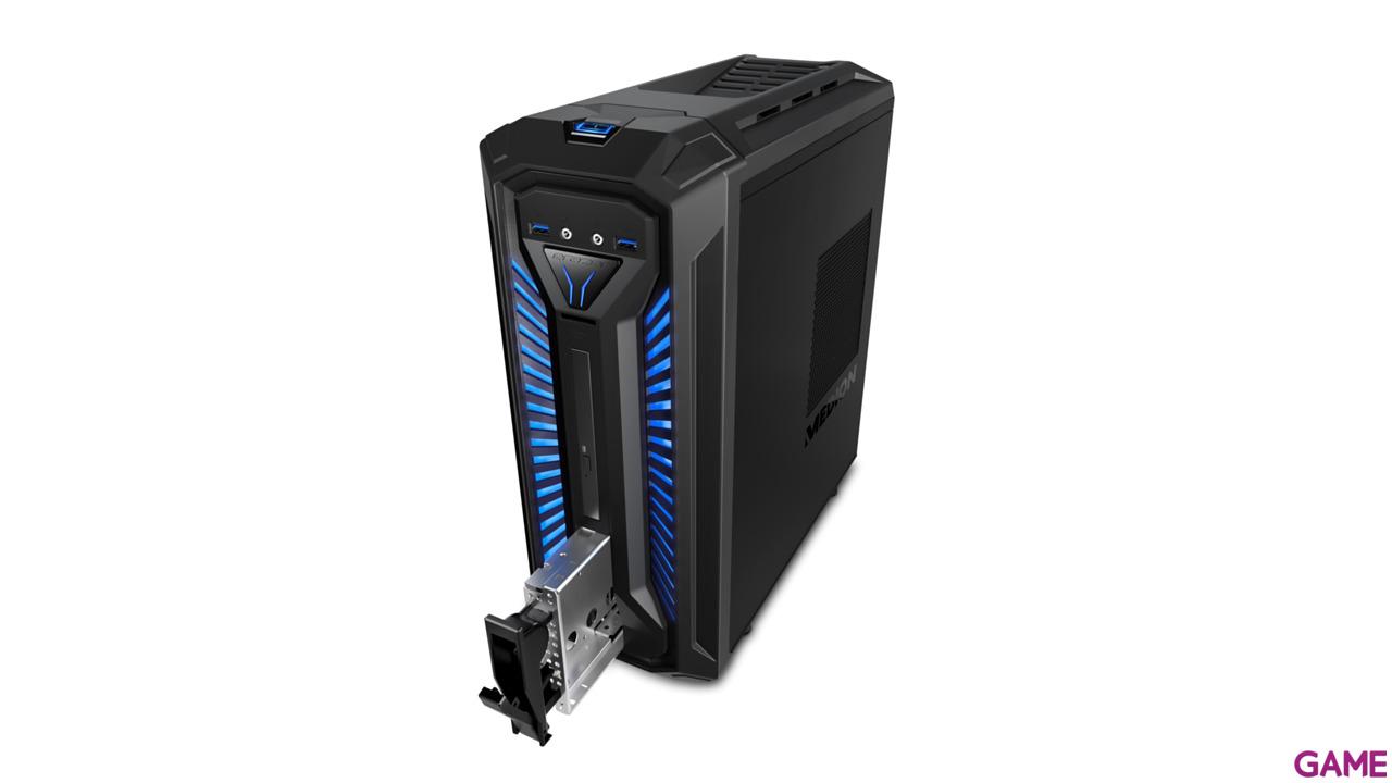 MEDION X30 - i7-8700 - GTX 1060 6GB - 16GB  - 1TB HDD + 256 GB SSD  - W10 - Sobremesa Gaming