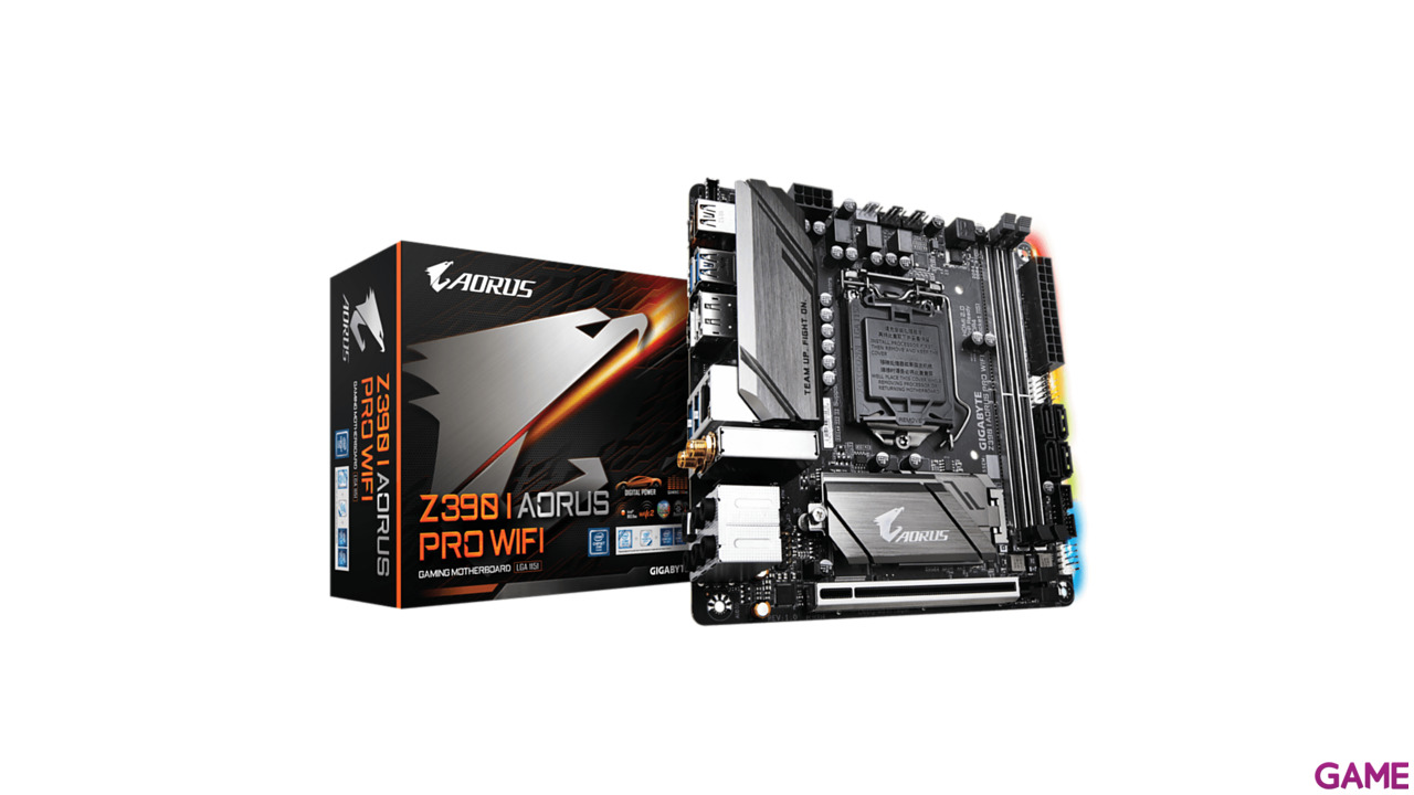 GIGABYTE Z390 I AORUS PRO WiFi - Placa Base Mini ITX LGA1151