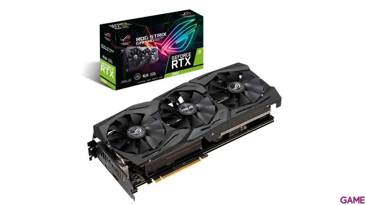 ASUS ROG Strix GeForce RTX 2060 6GB GDDR6 - Tarjeta Gráfica Gaming