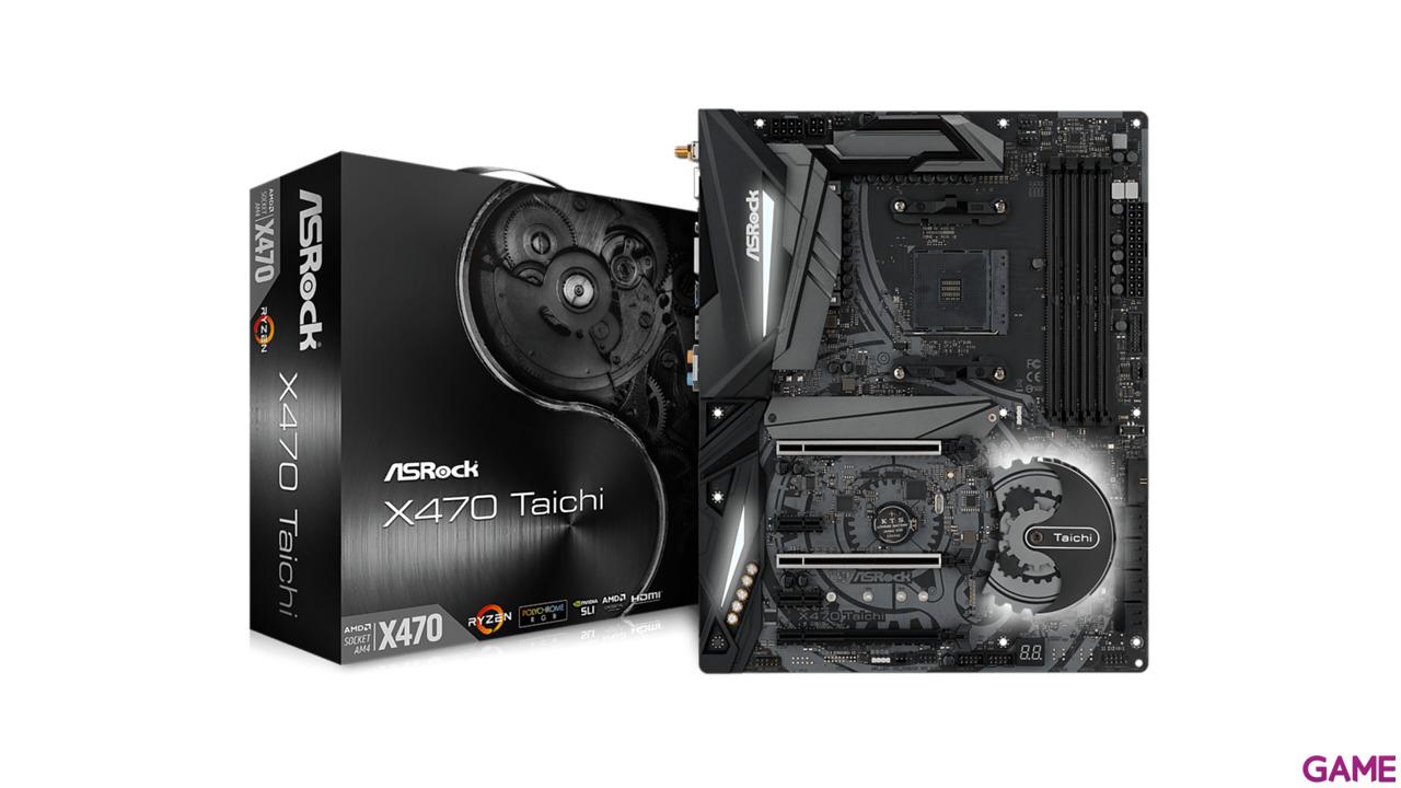 ASRock X470 Taichi - Placa Base ATX AM4