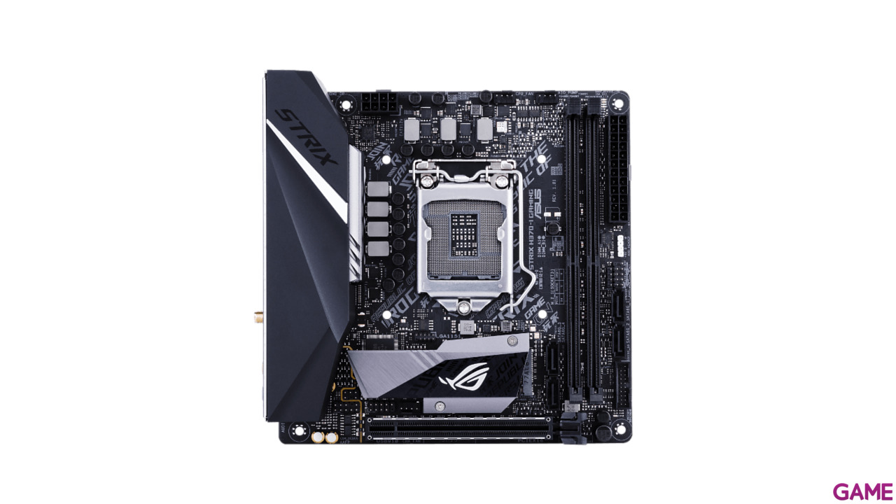 ASUS ROG STRIX H370-I Gaming - Placa Base Mini ITX LGA1151