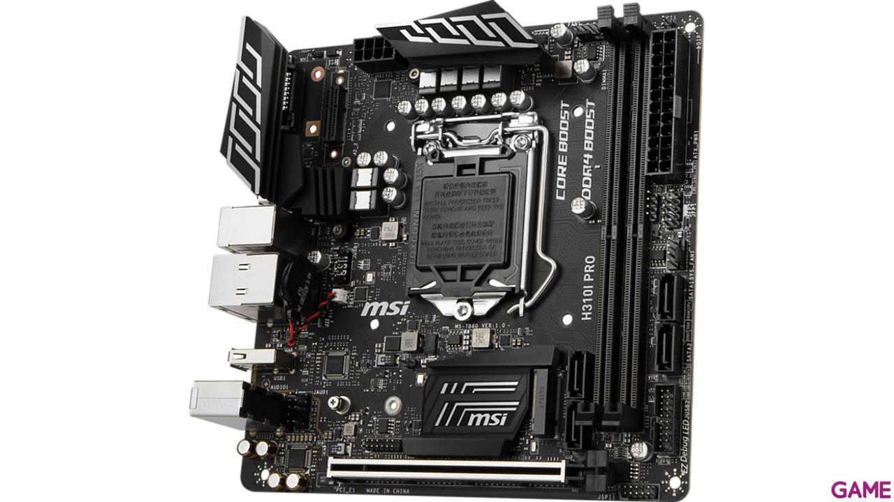 MSI H310I PRO - Placa Base Mini ITX LGA1151
