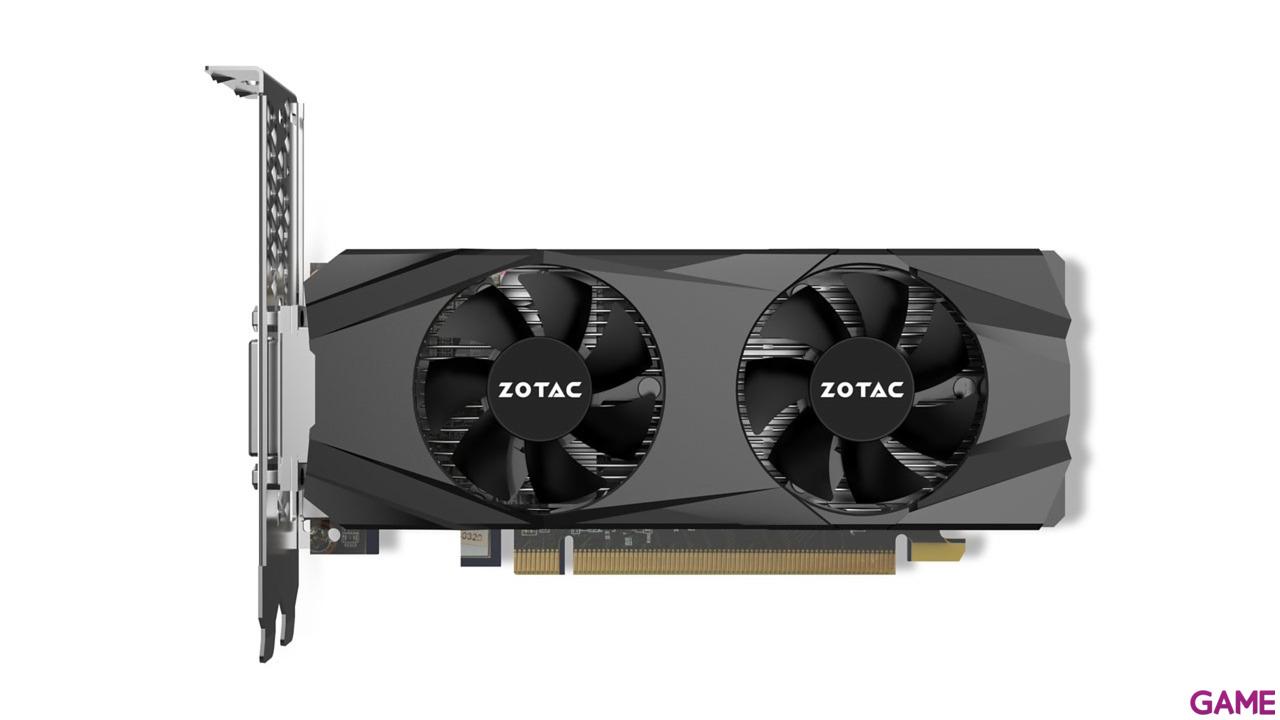 ZOTAC GeForce GTX 1050 Ti Low Profile 4GB GDDR5 - Tarjeta Gráfica Gaming