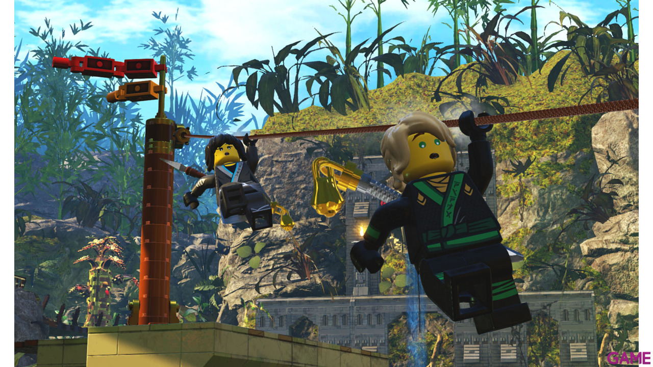 Lego Ninjago Pelicula El Videojuego Xbox One Game Es