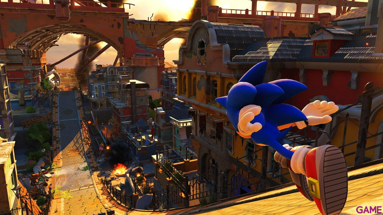 Sonic Forces Day One