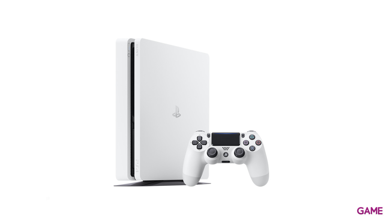 Playstation 4 Slim Blanca 500Gb + Has Sido Tú! Voucher