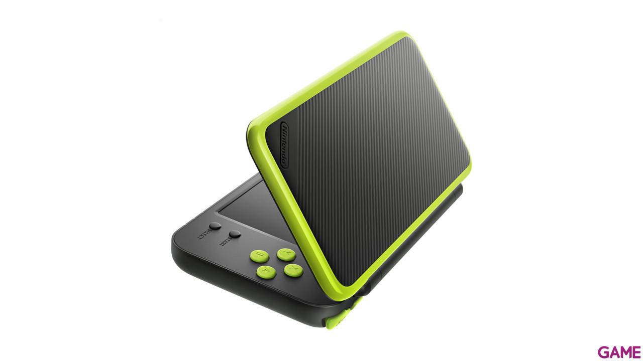 New Nintendo 2DS XL Verde Lima + Mario Kart 7 Preinstalado
