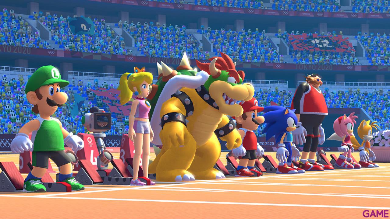 Mario Sonic Jjoo Tokyo 2020 Nintendo Switch Game Es