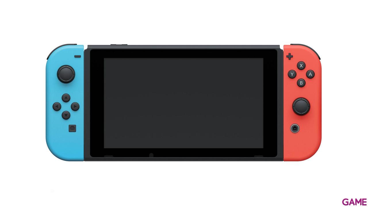 Nintendo Switch Azul Neon Rojo Neon - Modelo 2019