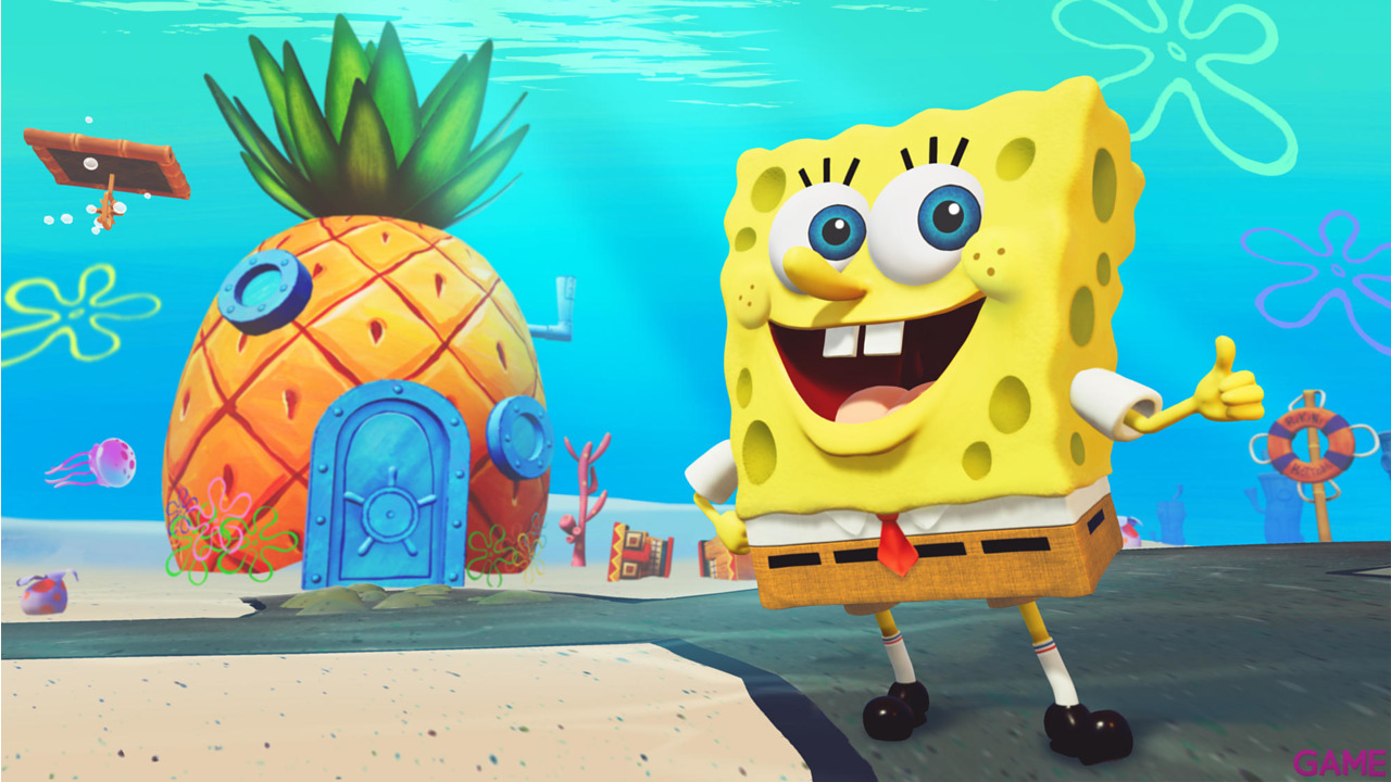 Bob Esponja Battle for Bikini Bottom - Rehydrated - Shiny Edition