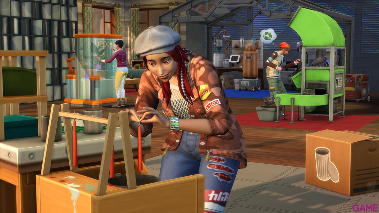 Los Sims 4 Vida Ecologica