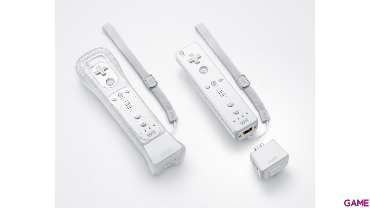 Wii Motion Plus blanco