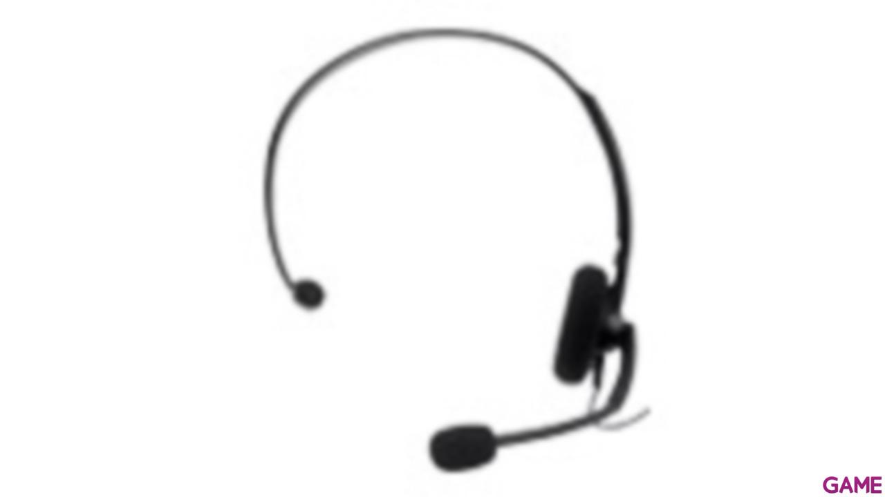 Auricular + Microfono con Cable Negro 2010
