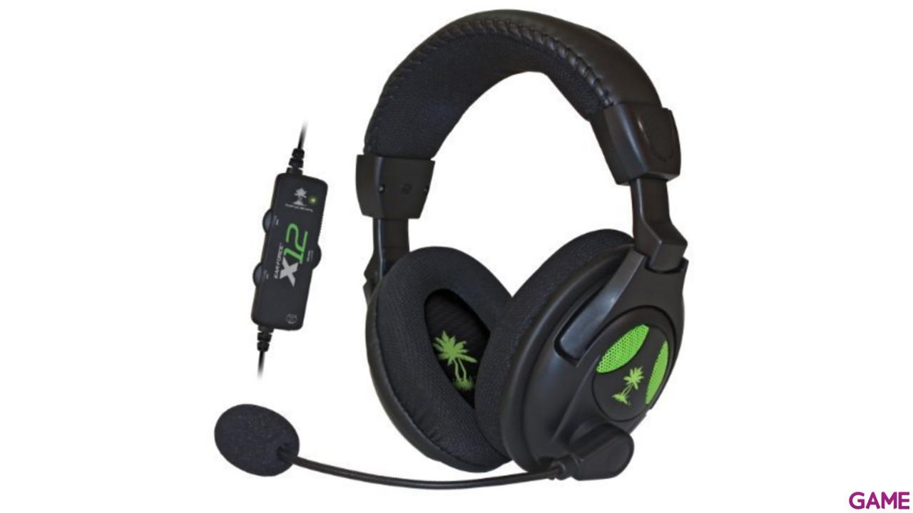 Auriculares Turtle Beach Ear Force X12 X360/PC