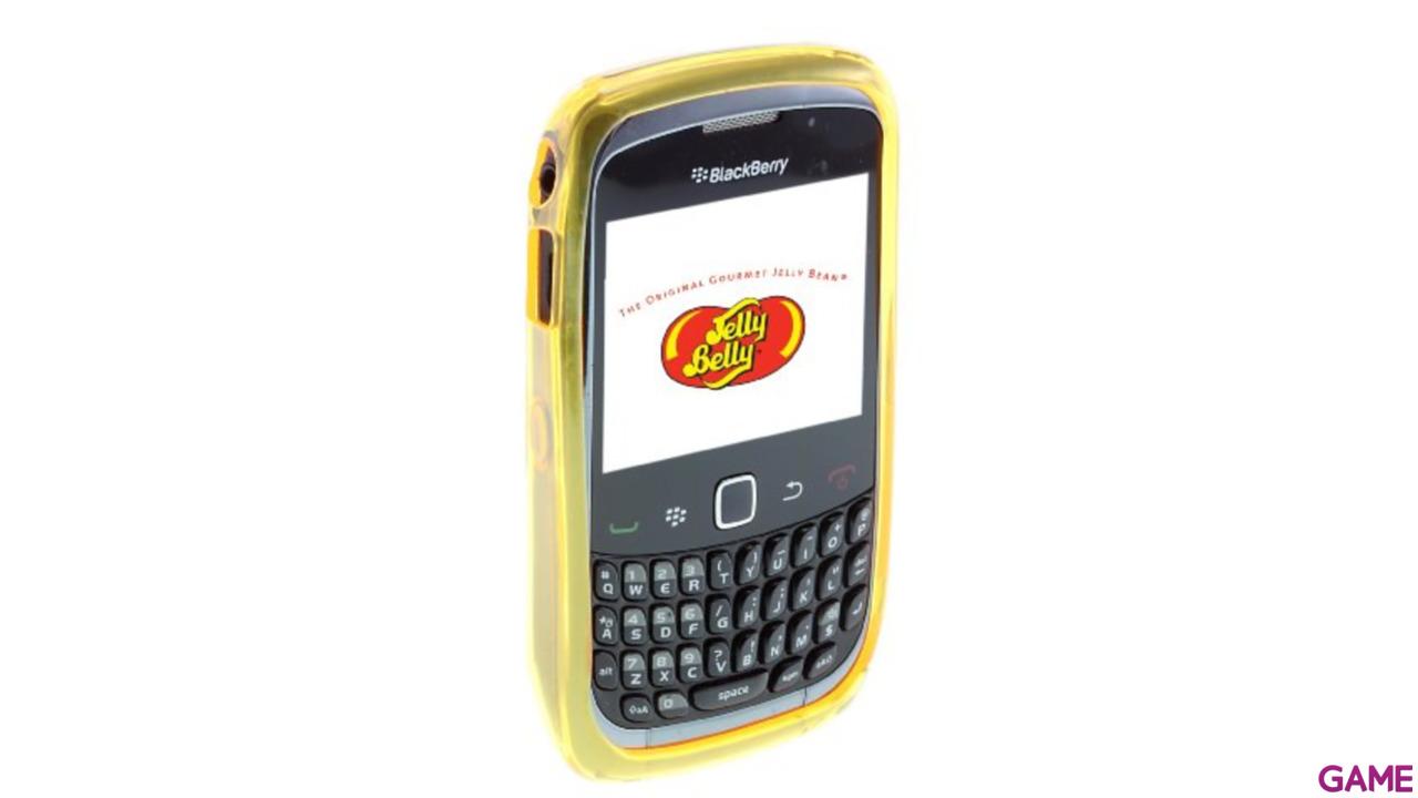 Carcasa Jelly Belly Blackberry Top Banana amarillo