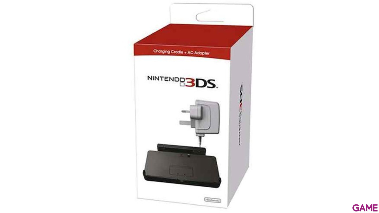 Base de Nintendo 3DS XL + Adaptador a Corriente