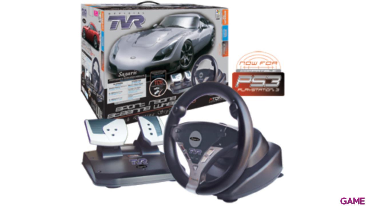 Volante TVR Sport Racing Evo PS3/PS2/PC