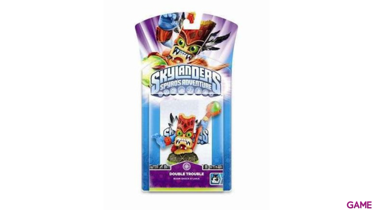 Figura Skylanders Giants V2: Double Trouble