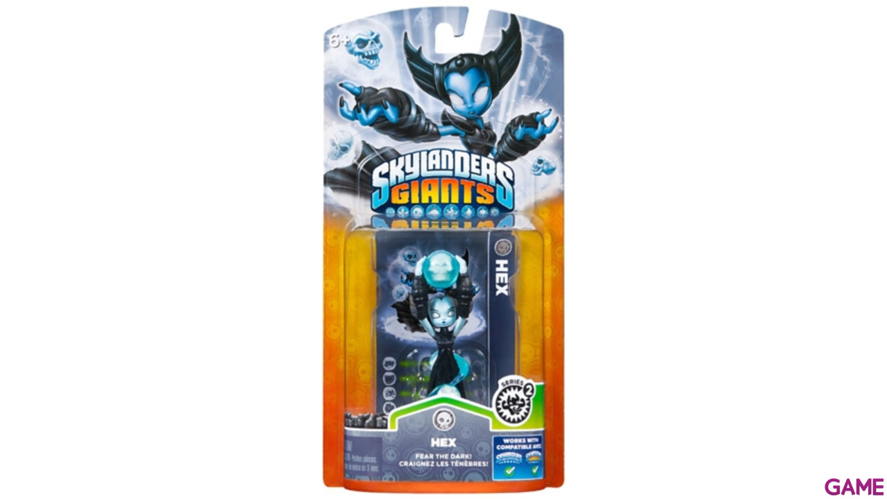 Figura Skylanders Giants V2: Hex