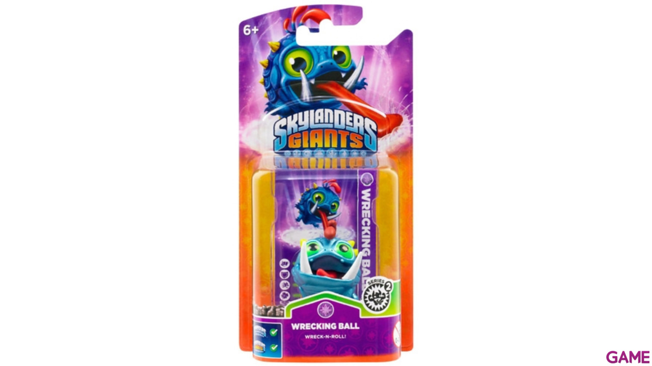 Figura Skylanders Giants V2: Wrecking Ball