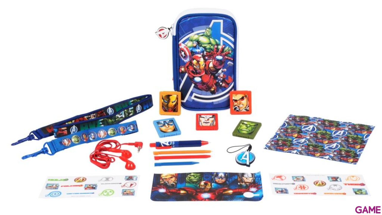 Kit 3DSXL Iron Man The Avengers