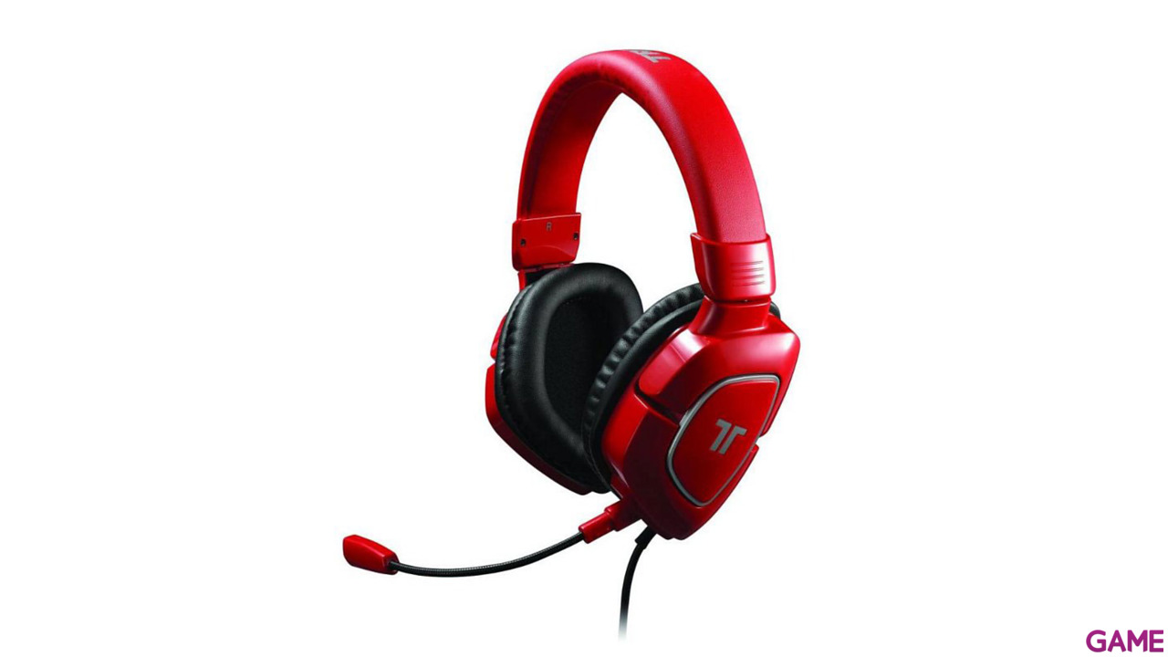 Auriculares Tritton AX180 Rojos PS3-PS4-X360-PC