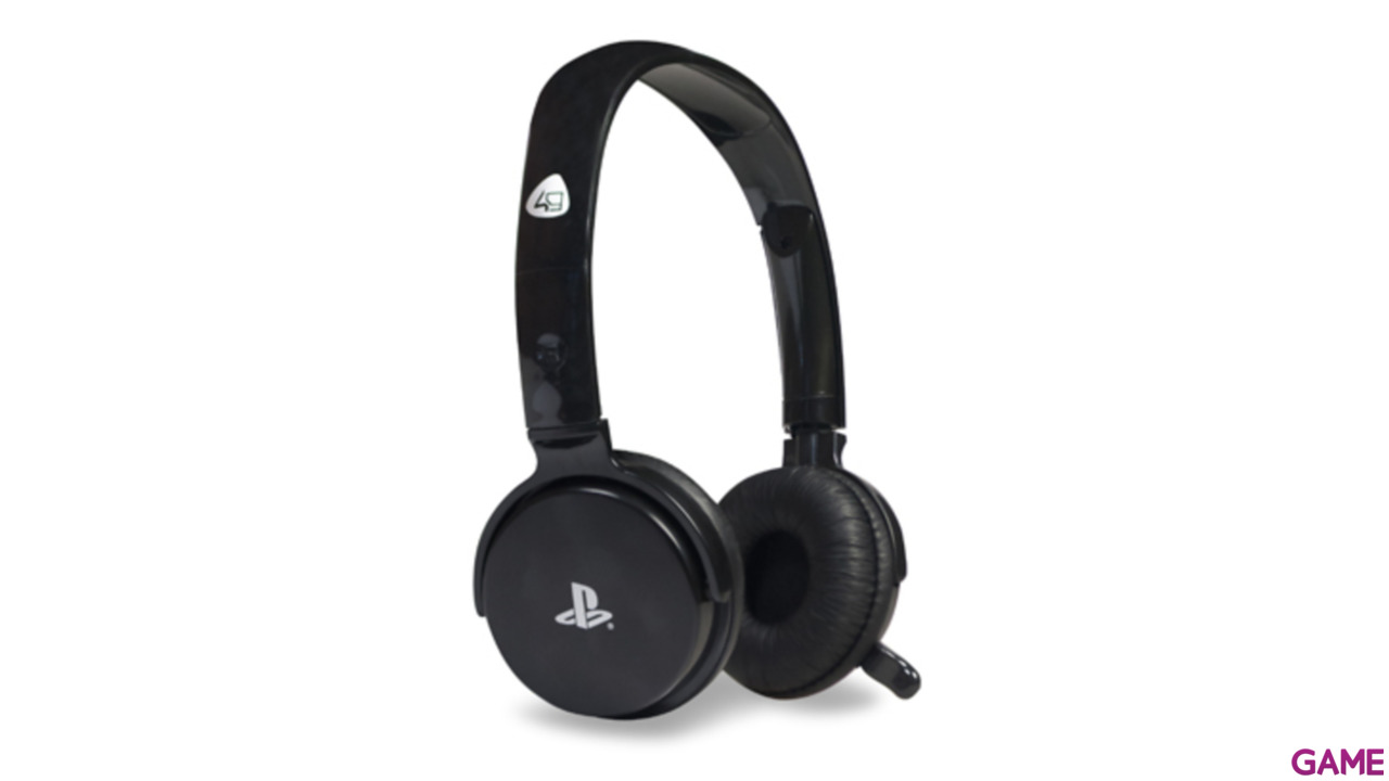 Auriculares 4Gamers CP-01 Negro -Licencia Oficial Sony-