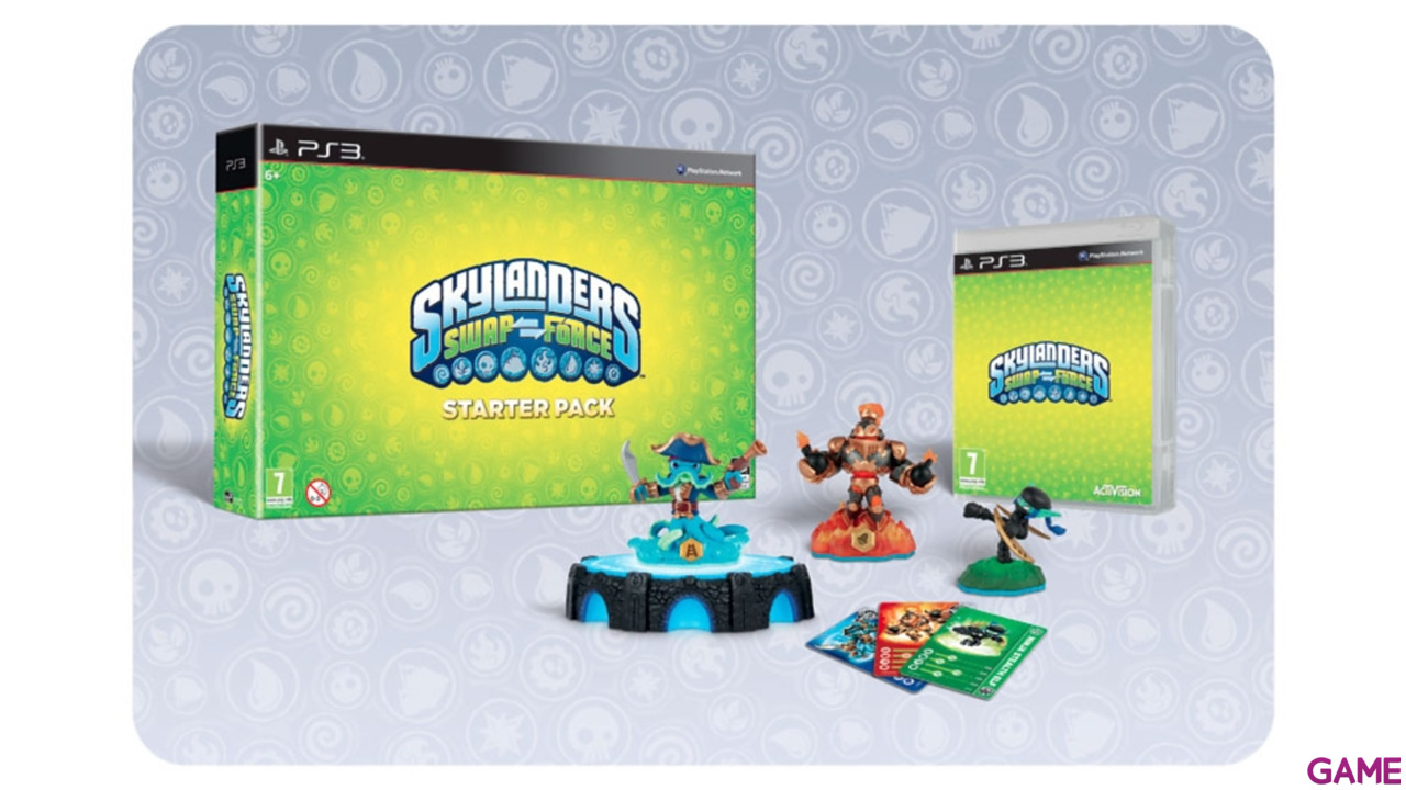 Figura Skylanders Swap Force Light Core: Smolderdash