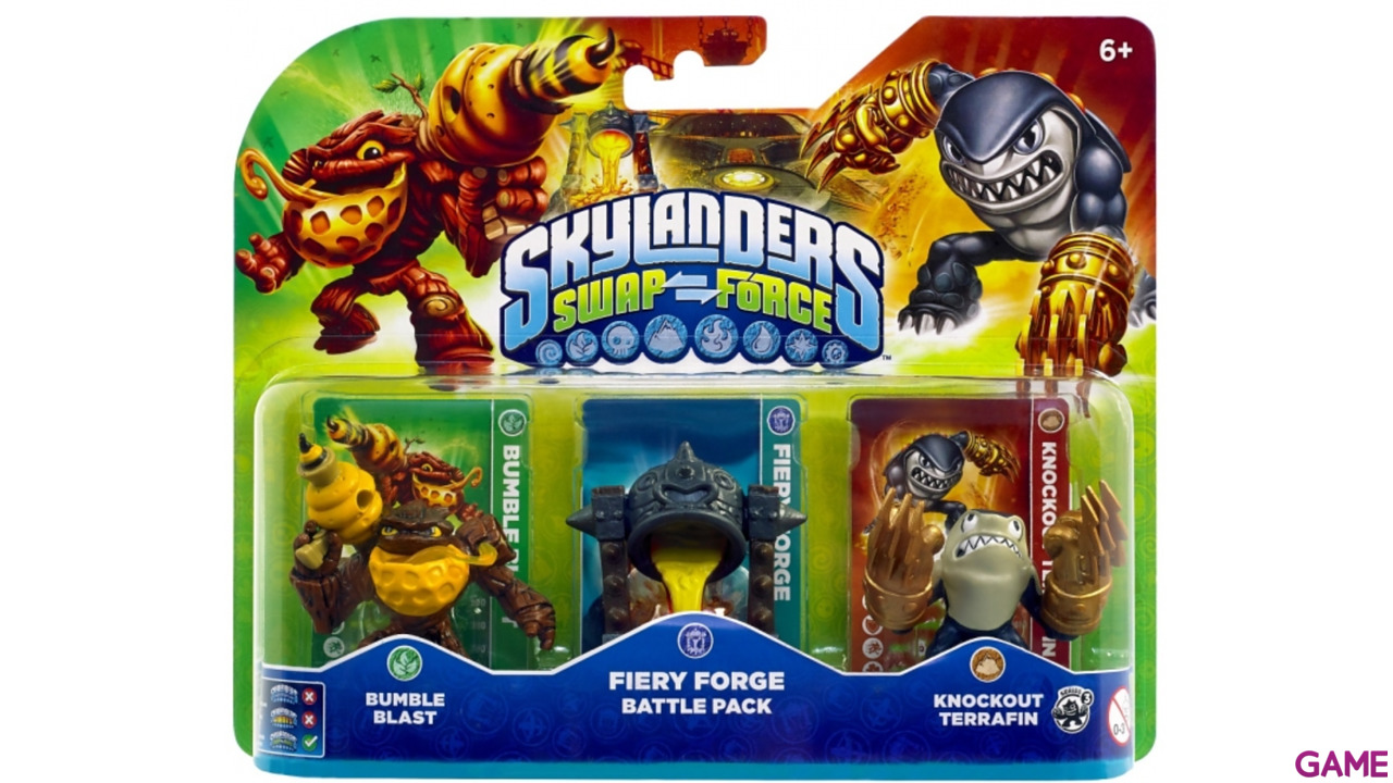 Skylanders Swap Force Battle Pack: Fiery Forge