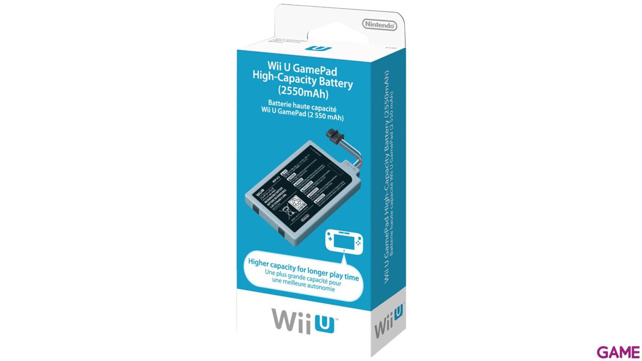 Batería de Alta Capacidad Para Wii U Gamepad