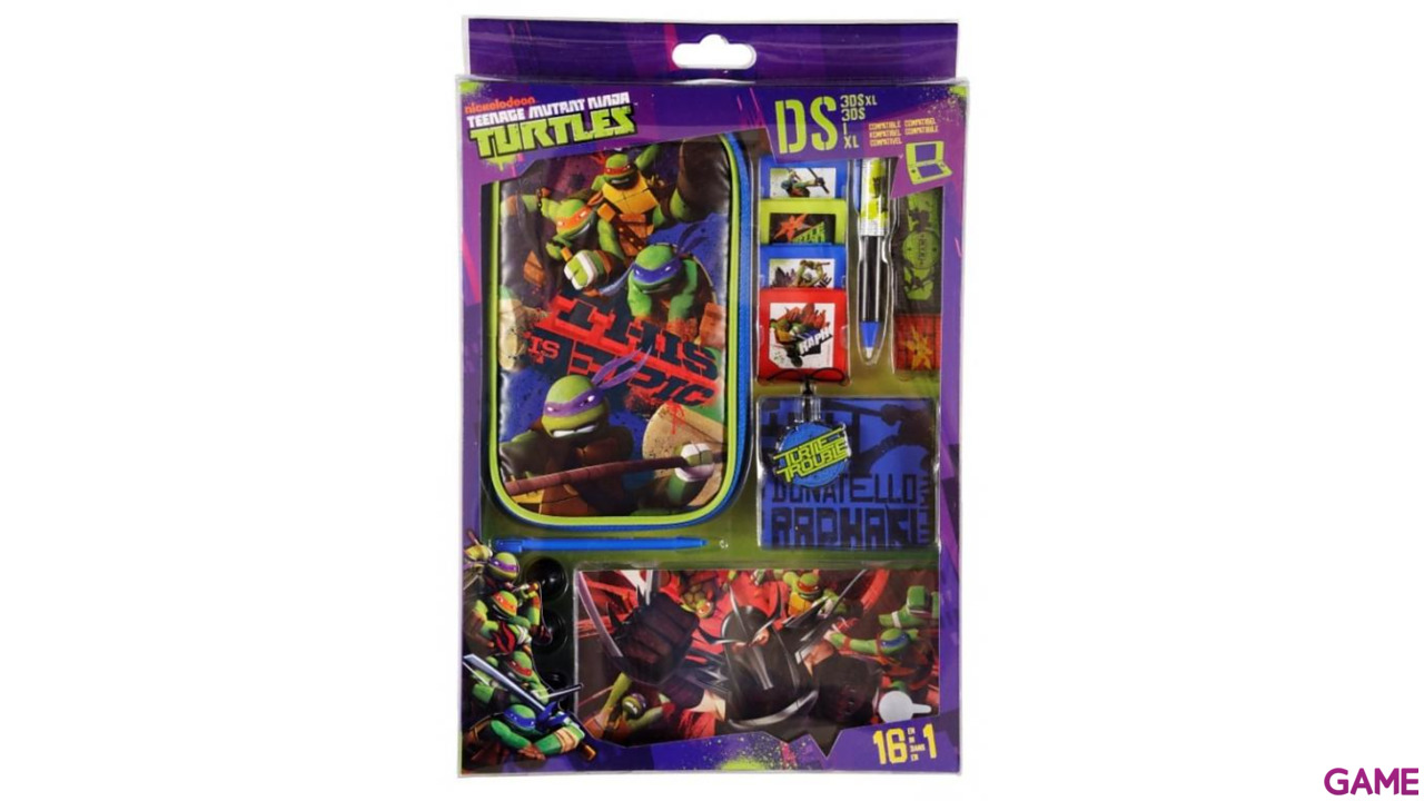 Kit Accesorios 16 en 1 Tortugas Ninja