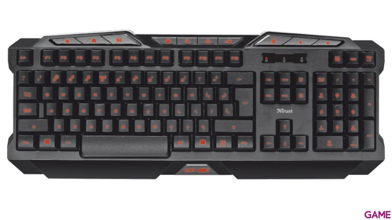 Trust GXT 280 - Teclado gaming