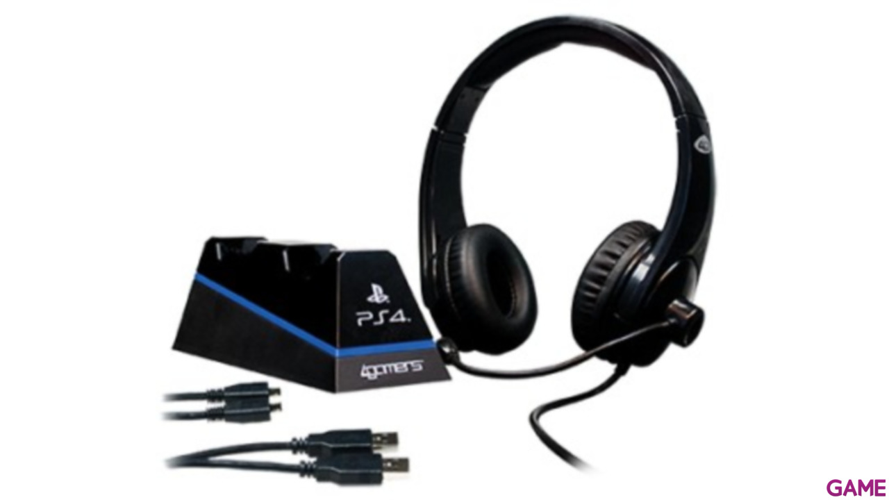Auriculares 4Gamers Starter Kit -Licencia Oficial Sony-