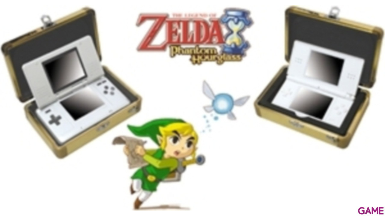 Caja Transporte 3DS o 3DS XL Zelda: Phantom HourGlass