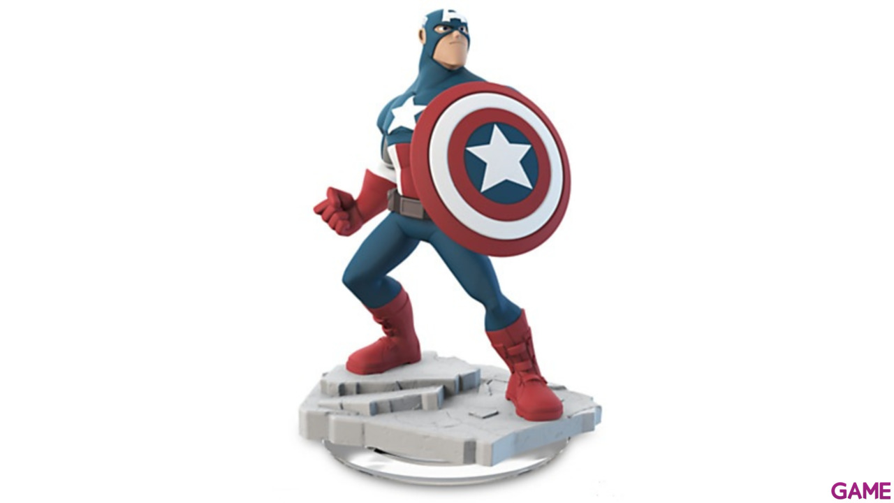Disney Infinity 2.0 Figura Capitán América