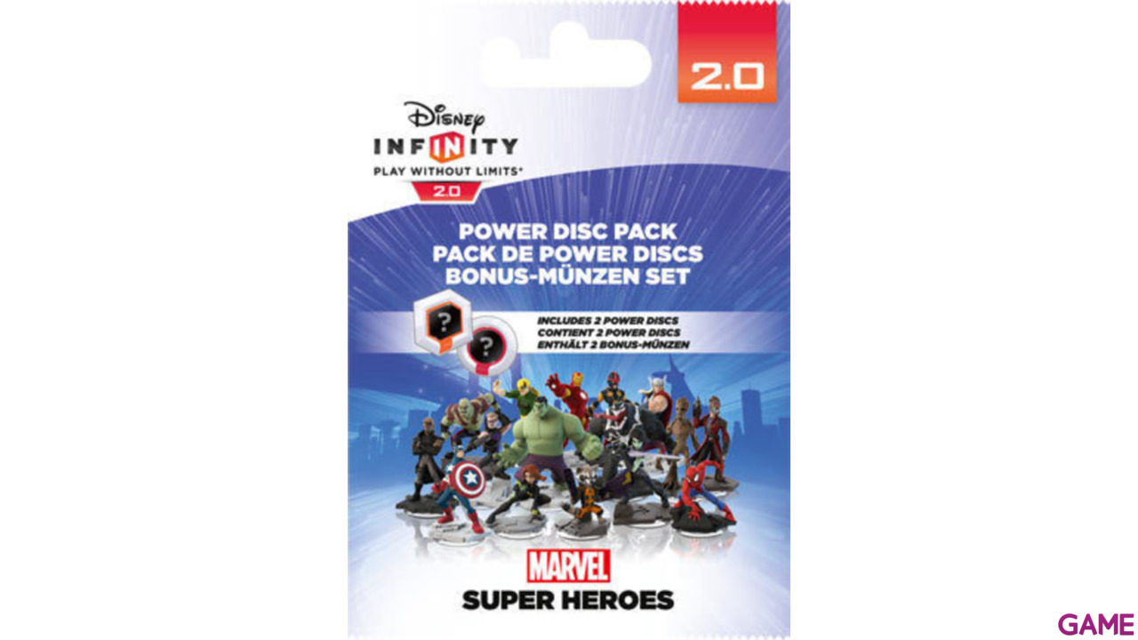Disney Infinity 2.0 Power Discs Serie 1 Marvel