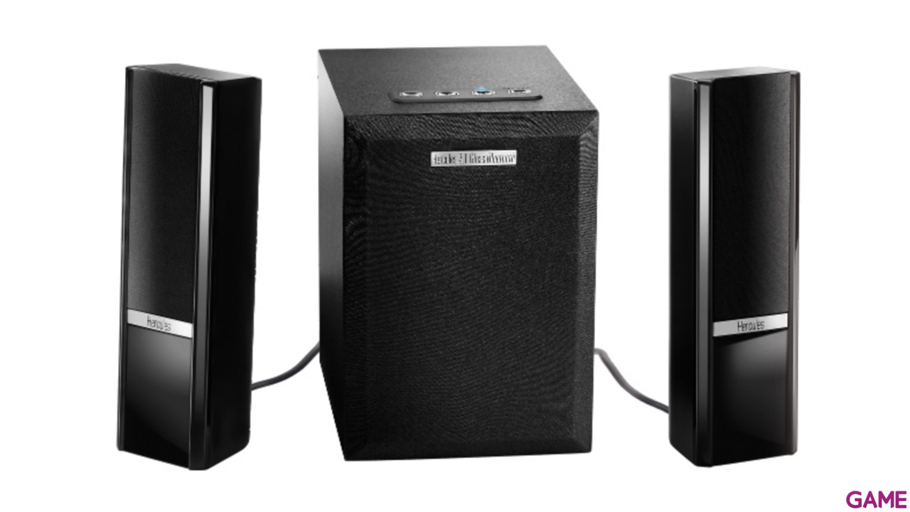 Altavoces Hercules 2.1 Gloss Bluetooth